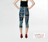 Charlee Urban Experiment Capris Back View