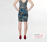 Charlee Urban Experiment Fitted Skirt Back View
