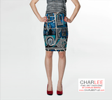 Charlee Urban Experiment Fitted Skirt Front View