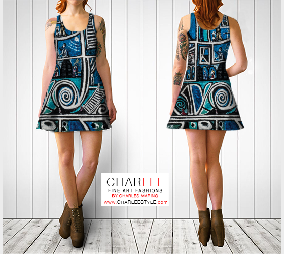 Charlee Urban Experiment Flare Dress