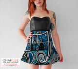 Charlee Urban Experiment Flare Skirt Front View