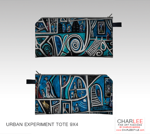 Charlee Urban Experiment 20x14 Pillow Case
