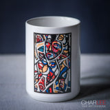 Charlee The Messenger Coffee Mugs