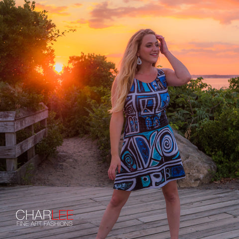 Charlee The Dream NOIR Flare Dress