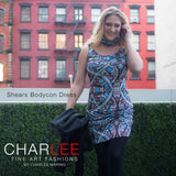 Shears Bodycon Dress by Charlee
