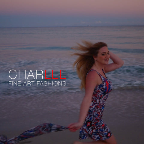 Charlee Time Lapse Flare Dress
