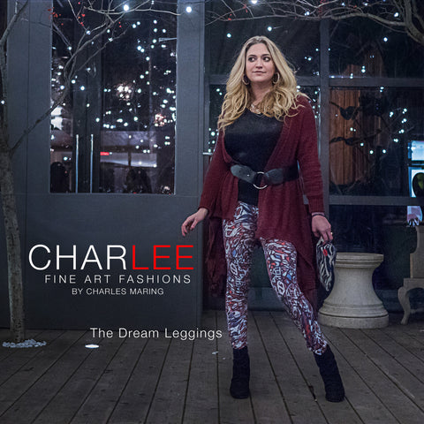 Charlee The Dream Leggings in Black and White