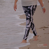 The Messenger Leggings BW by Charlee