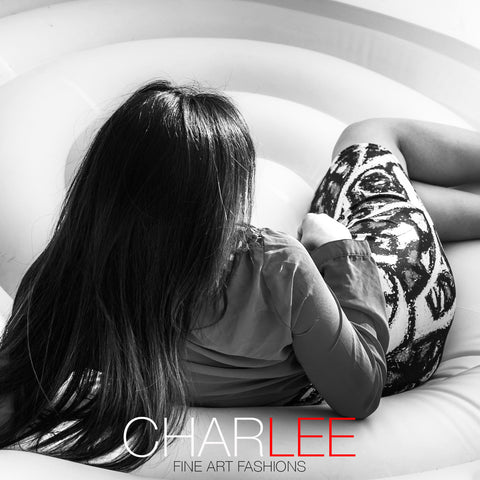 Charlee The Messenger Fitted Skirt