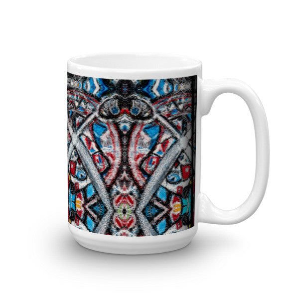 Charlee Shears Coffee Mugs 15oz Left Side