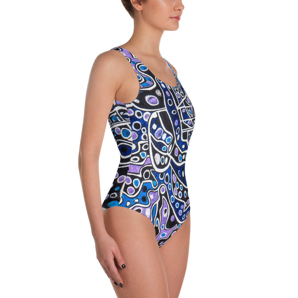 "Charlee ""Savoir Faire"" One-Piece Swimsuit"