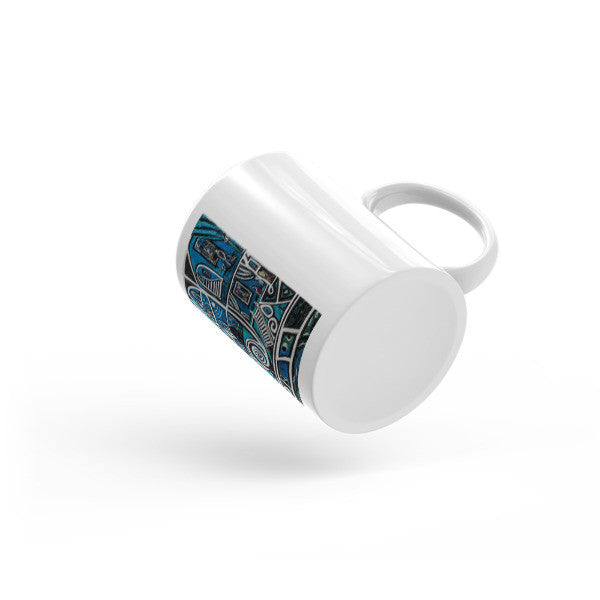 Charlee Urban Experiment Coffee Mugs Bottom