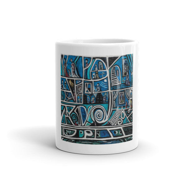Charlee Urban Experiment Coffee Mugs Front