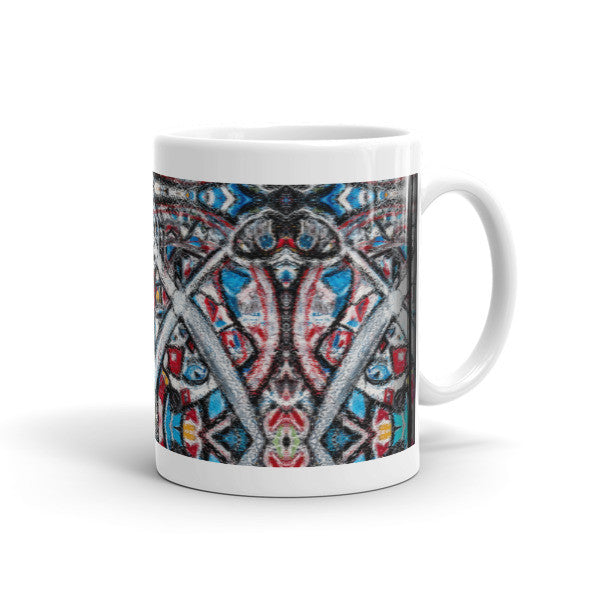 Charlee Shears Coffee Mugs 11oz Left Side