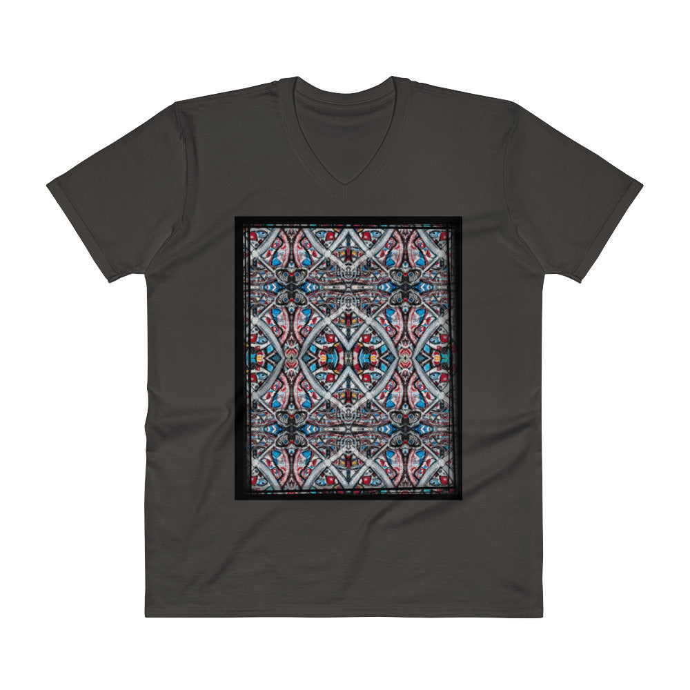 "Charlee ""Shears"" Remix Mens V-Neck T-Shirt"