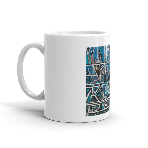 Charlee Urban Experiment Coffee Mugs Right Side