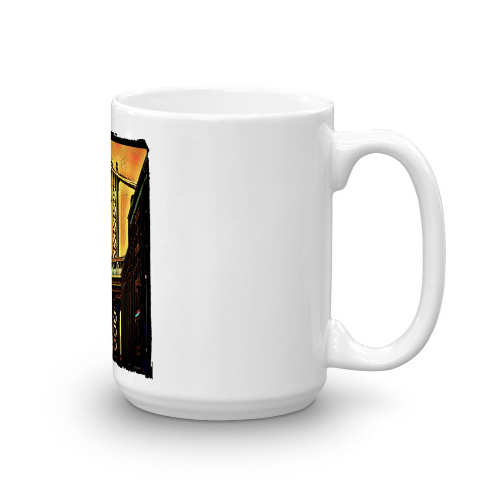 Charlee NYC The Brooklyn Bridge Mug