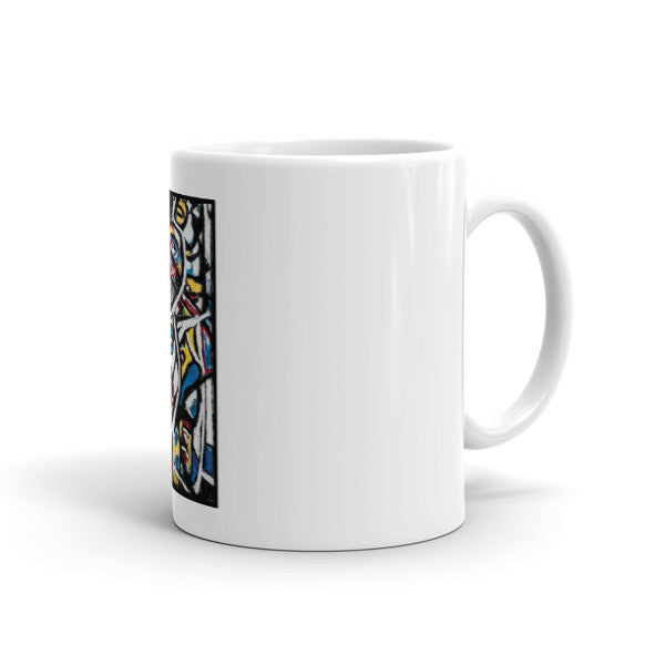Charlee The Messenger Coffee Mugs Left Side