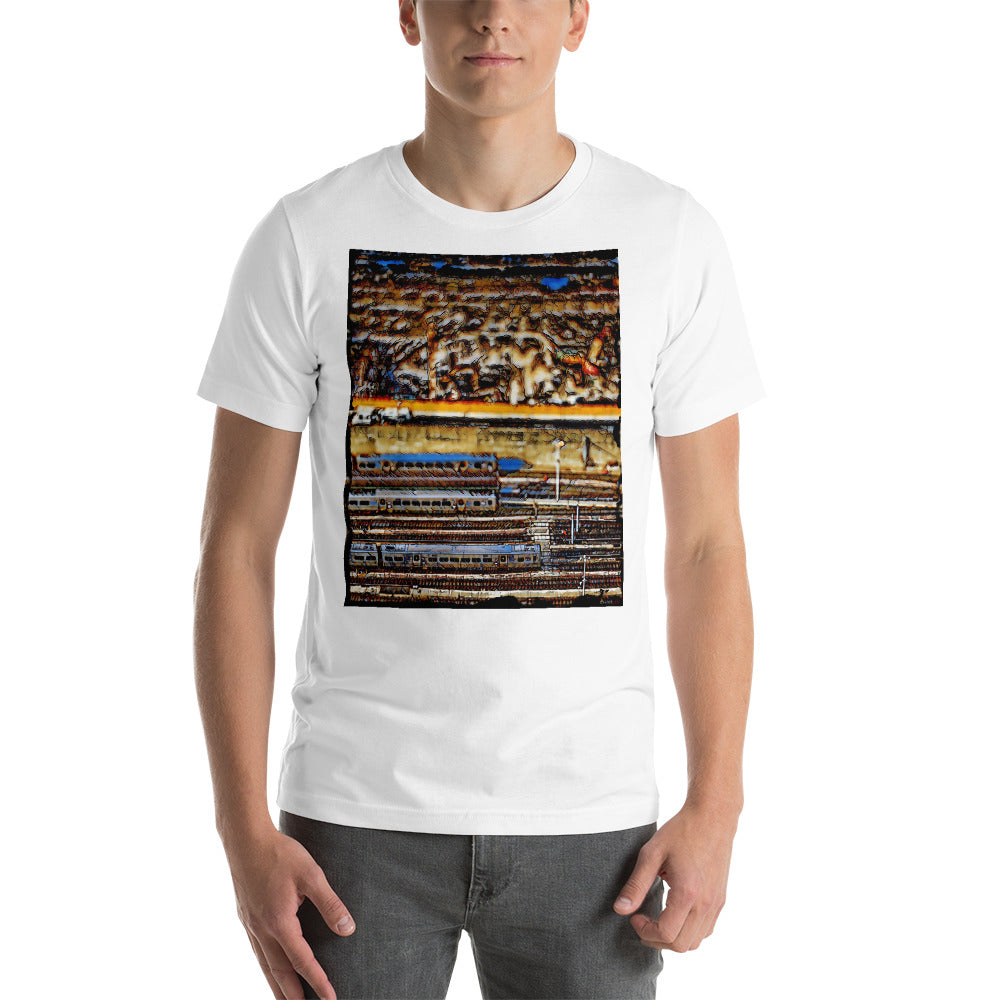 "Charlee ""Hudson Yards"" Men's Crew Neck Short-Sleeve Unisex T-Shirt"