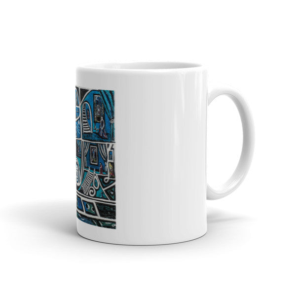 Charlee Urban Experiment Coffee Mugs Left Side
