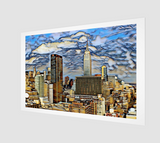 Charlee Empire State Building Giclée Home Decor Prints