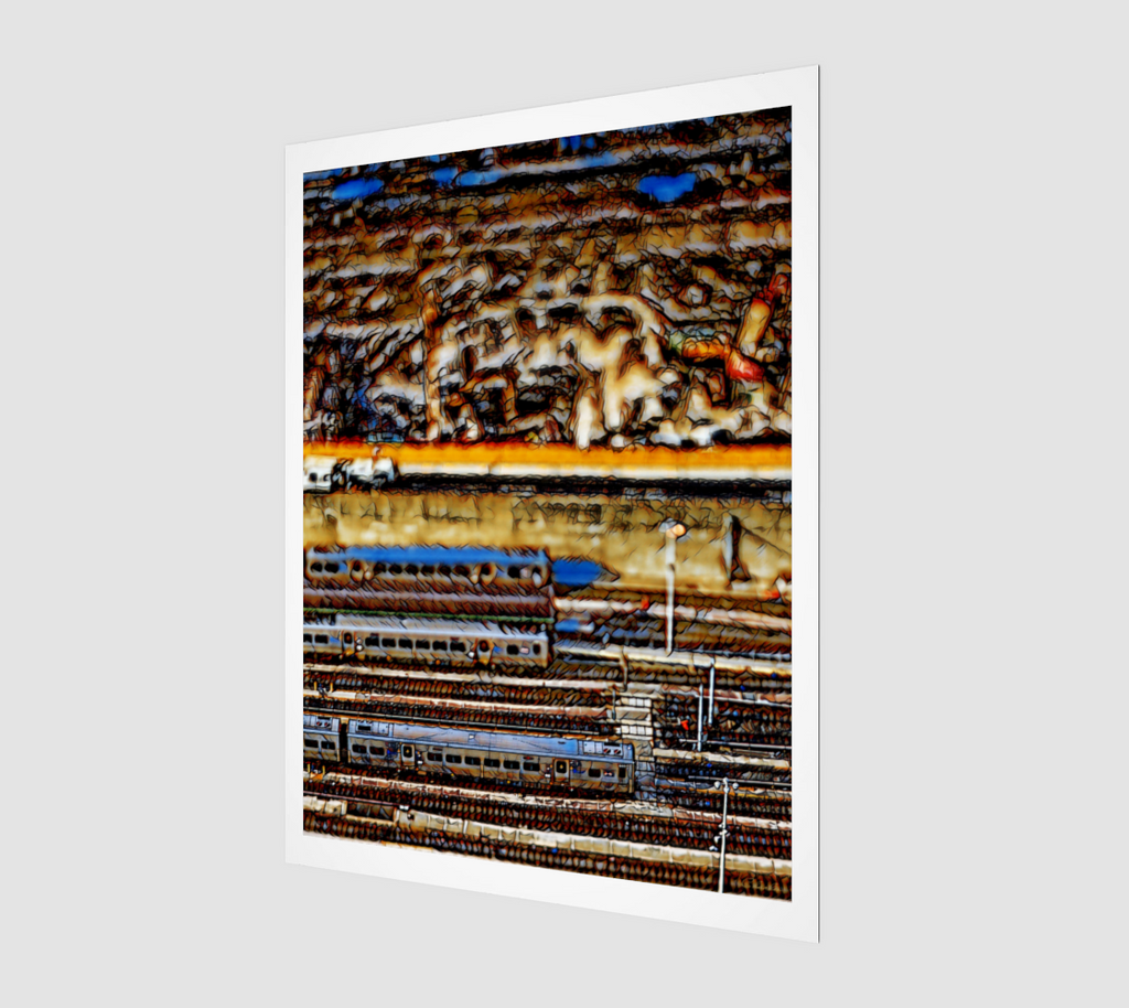 Charlee West Side Yards Giclée Home Decor Wall Prints