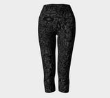 Charlee The Dream Capris NOIR