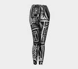 Charlee Urban Experiment Leggings in Black and White