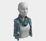 Charlee Time Lapse Long Scarf