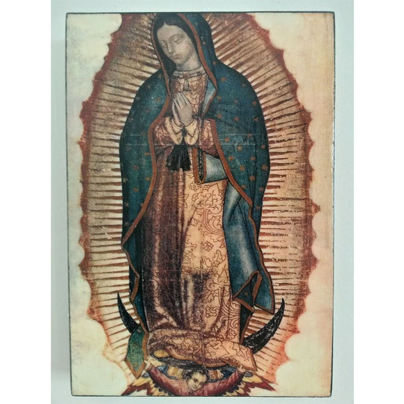 Our Lady of Guadalupe, Christian Icon 6x4