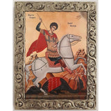 "Saint George, Christian Icon 10x8"" (26x20cm) - Artastate"
