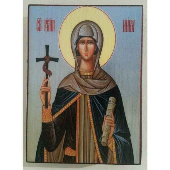 Saint Nina, Christian Icon 4x3