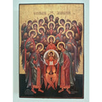 "Feast, Christian Icon 6x4"" (16x11cm) - Artastate"