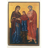 """The Holy Family"" Christian Icon 8x6"" (21x15cm)"