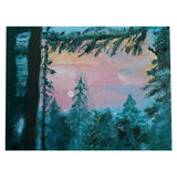 Mystical Rhodopes, Oil Painting 10x8 in / 25x20 cm