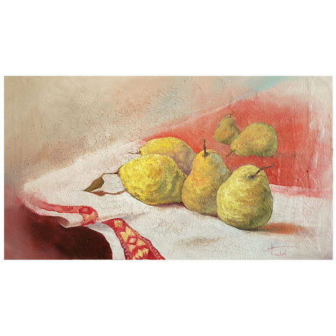 Quince, Oil Painting by Nikolai Pashkov