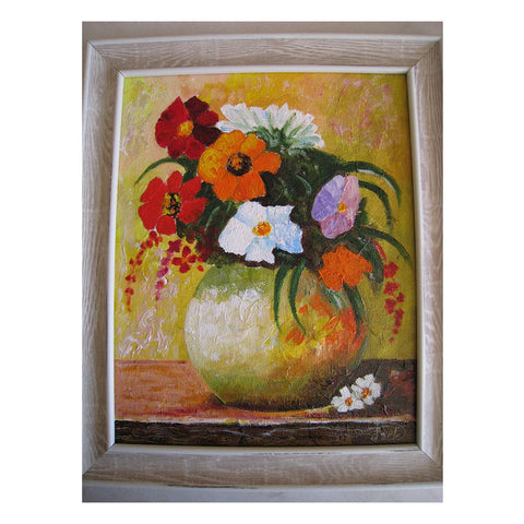 "Natural Bouquet, Oil Painting 12x10"" (30x25cm)"