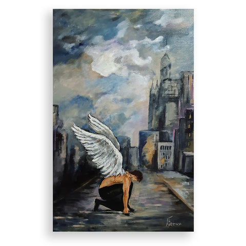 Faith, Acrylic Painting by Iliana Kirova