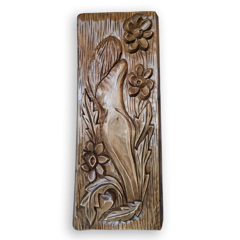 Fairy, Original Woodcarving by Nikifor Nikiforov