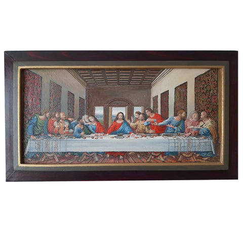 The Last Supper (Reproduction) , Oil Painting by Veselin Nikolov