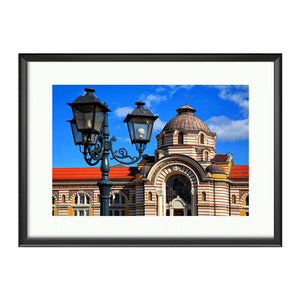 Old Sofia, Photography Framed Art Print by Kayya Hristova