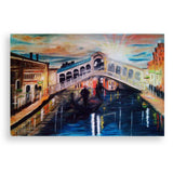 Sunset over Venice, Oil Painting by Ivanka Alexieva