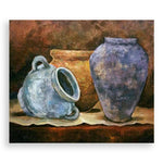 Clay Pots, Oil Painting by Elena Velichkova