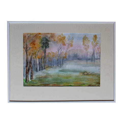 "Autumn, Water Colour Painting 12x16"" (31x41cm)"