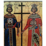 "Constantine and Helena, Christian Icon 4x3"" (11x8cm) - Artastate"