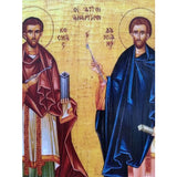 "Cosmas and Damian, Christian Icon 8x6"" (21x15cm) - Artastate"