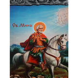 "Saint Menas, Christian Icon 10x8"" (26x20cm)"