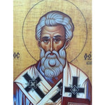 """Saint Photius"" Christian Icon 6x4"" (16x11cm)"