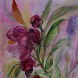 "Oleander, Water Colour Painting 12x16"" (31x41cm)"