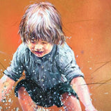 Childhood, Oil Painting by Penio Ivanov